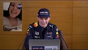Max Verstappen répond aux fans en vidéo FaceTime™