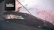 WRC Argentinië: Crash van Kris Meeke in SS14