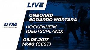 Edoardo Mortara (Mercedes-AMG C63 DTM) - Araç Üstü 1. Yarış - DTM Hockenheim 2017