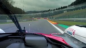 LMP1赛车遭遇交通问题处理全程