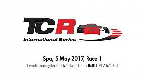 TCR 2017 - Spa-Francorchamps 1. Yarış