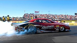 Bo Butner is the first to notch two wins on the season in Pro Stock