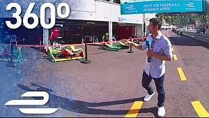 Monaco: Die Boxengasse in 360 Grad