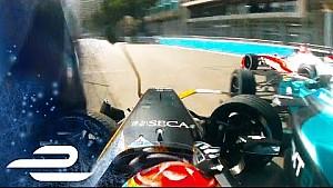 Who's to blame? Vergne and Piquet crash In Monaco - Formula E