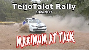 TeijoTalot Rally 2017 - Maximum attack!