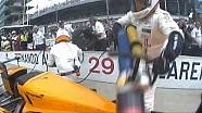 Fernando Alonso Pit Stop, Indy 500