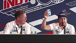 Indy 500: Persconferentie Alonso post-race