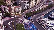 2017 Monaco GP FP3 - Sürücüler Start Denemesi Yapıyor