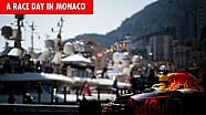 The best commute in F1? Race day at the Monaco Grand Prix