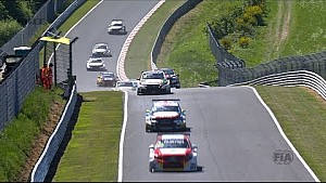 The best action from the Opening Race at the Nurburgring
