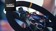 WRC 2017: Volante especial de tecnología