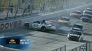Prova de Dover da NASCAR termina com grande acidente