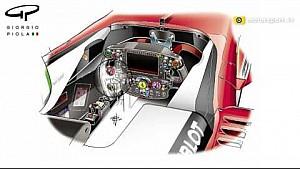 Piola: Ferrari-Lenkrad, Vergleich