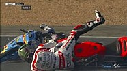 Insiden ganda di Warm-Up Moto3 Perancis