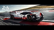 En camino a Le Mans 2017.
