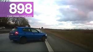 Recopilación de accidente de coche 898 - Junio 2017