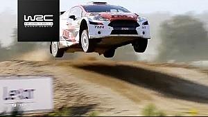WRC 2 - Rally Italia Sardegna 2017: WRC 2 highlights Saturday