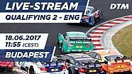 2. Yarış sıralama turları - DTM Budapeşte 2017