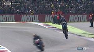 Selebrasi kemenangan pertama Jack Miller di MotoGP