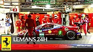 24р Le Mans this was 2017 Le Mans 24 for Ferrari teams & crews