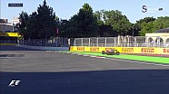 2017 Azerbaycan GP Sıralama - Q2'de Pist Dışına Çıkanlar ve Kontralar
