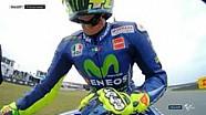 Selebrasi kemenangan Rossi di Assen 2017