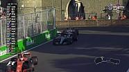 2017 Azerbaycan GP - Hulkenberg'in Yarış Dışı kaldığı An