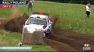 Le deuxième jour du Rallye de Pologne de Hyundai