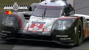 El Porsche 919 Hybrid ganador de Le Mans en Goodwood
