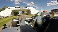 Nico Rosberg retrouve le cockpit d'une Mercedes F1