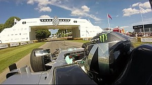 Nico Rosberg en un Mercedes F1