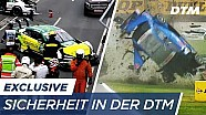Crash at 255km/h: So sure are the DTM cars!