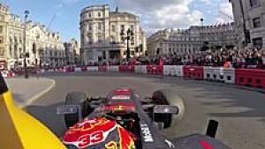 Onboard: Max Verstappen in Londen