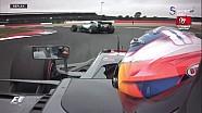 Hamilton'ın Grosjean'ı engellediği an - 2017 Britanya GP sıralama
