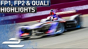 FP1, FP2 & Qualifying Highlights - Saturday - New York City ePrix