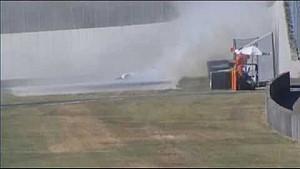 Crash Giacomo Bianchi, Italian F4 Championship, Mugello, Gara 3