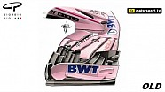 Force India front wing development - Silverstone