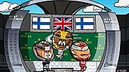 El GP de Gran Bretaña de F1 según Los MiniDrivers