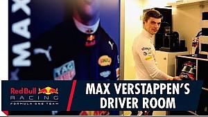 Verstappen laat zijn 'Driver Room' zien