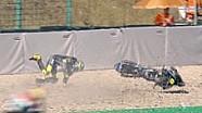 Kompilasi kecelakaan Moto3 di Brno