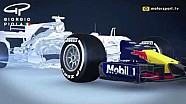 Ala delantera flexible de Red Bull RB13