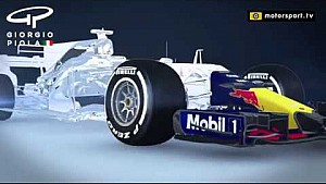 Red Bull RB13 flexible front wing