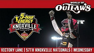 World of Outlaws Craftsman sprint cars Knoxville nationals August 9, 2017 | Victory lane