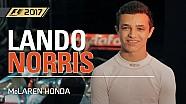 Lando Norris teste les McLaren dans F1 2017