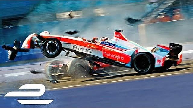 فورمولا إي أبرز حوادث الموسم الثالث من الفورمولا إي