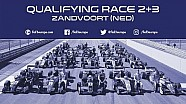 Qualifying for race 2+3  at Zandvoort