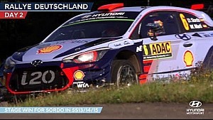 Rally Germany day two - Hyundai Motorsport 2017