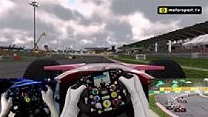 F1 2017: F2007 saat hujan di Sepang