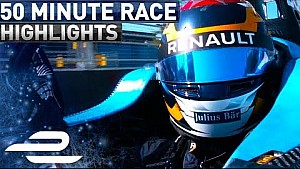 Hydro-Quebec Montreal ePrix 2017 (Round 11) extended highlights - Formula E