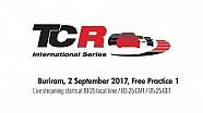 2017 Buriram, TCR free practice 1
